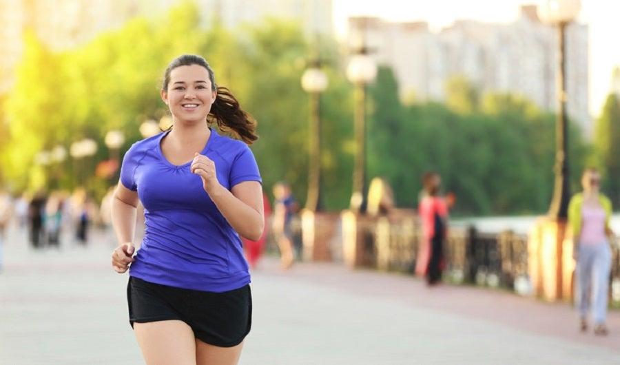 joggeuse en ville