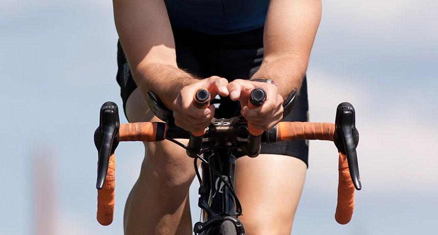 Prolongateurs de guidon de vélo pour triathlon