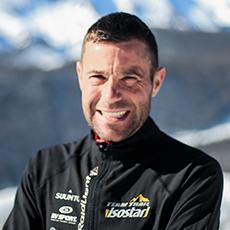 Portrait Régis Durand, team trail Isostar