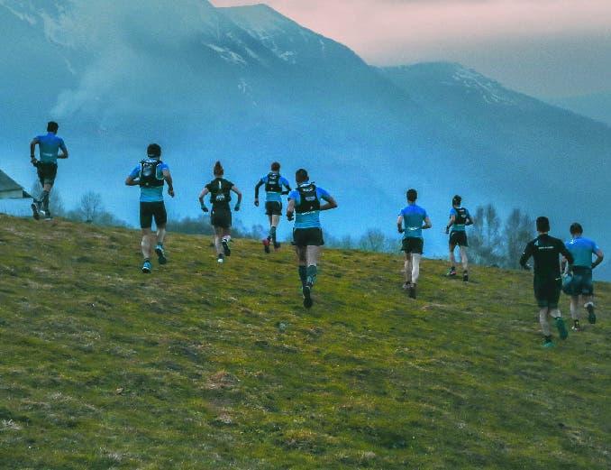 Team Trail Isostar dans les Pyrénées